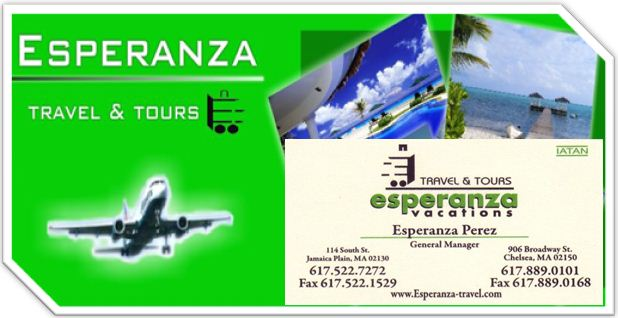 Esperanza travel and tour. vs.com disign