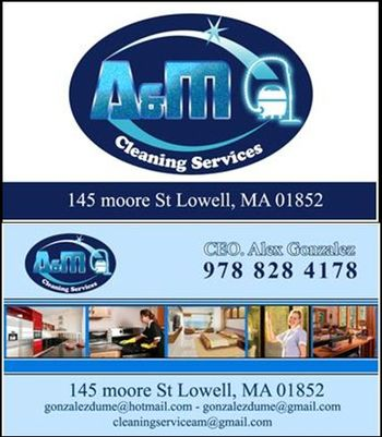 Alex A&M cleaning Services flyer