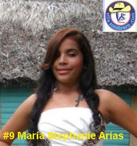 #9  Maria Stephanie  Arias 15 años  copy